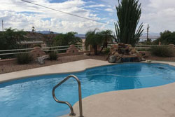 dog friendly vacation rental on golf course with enclosed back yard, lake havasu home rental short term rentals